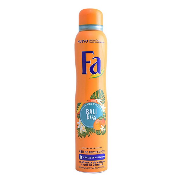 Deodorant Spray Bali Kiss Fa (200 ml)