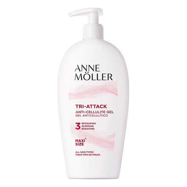 Gel Anti-Celulită Tri-attack Anti-cellulite Gel 400 Ml Anne Möller (400 ml)